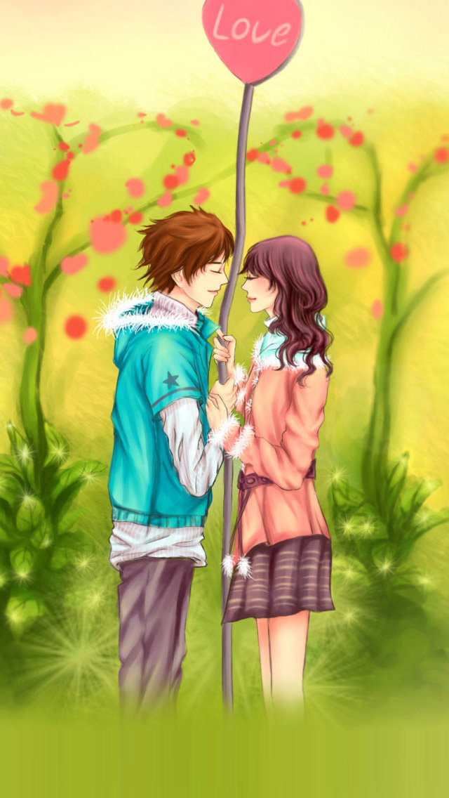 Animated Love couple Wallpaper For Mobile : Hd couple Wallpaper For Iphone 6 - impremedia.net