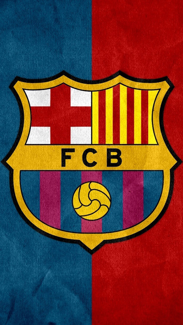 Fcb Logo Iphone Wallpaper Mobile Wallpapers
