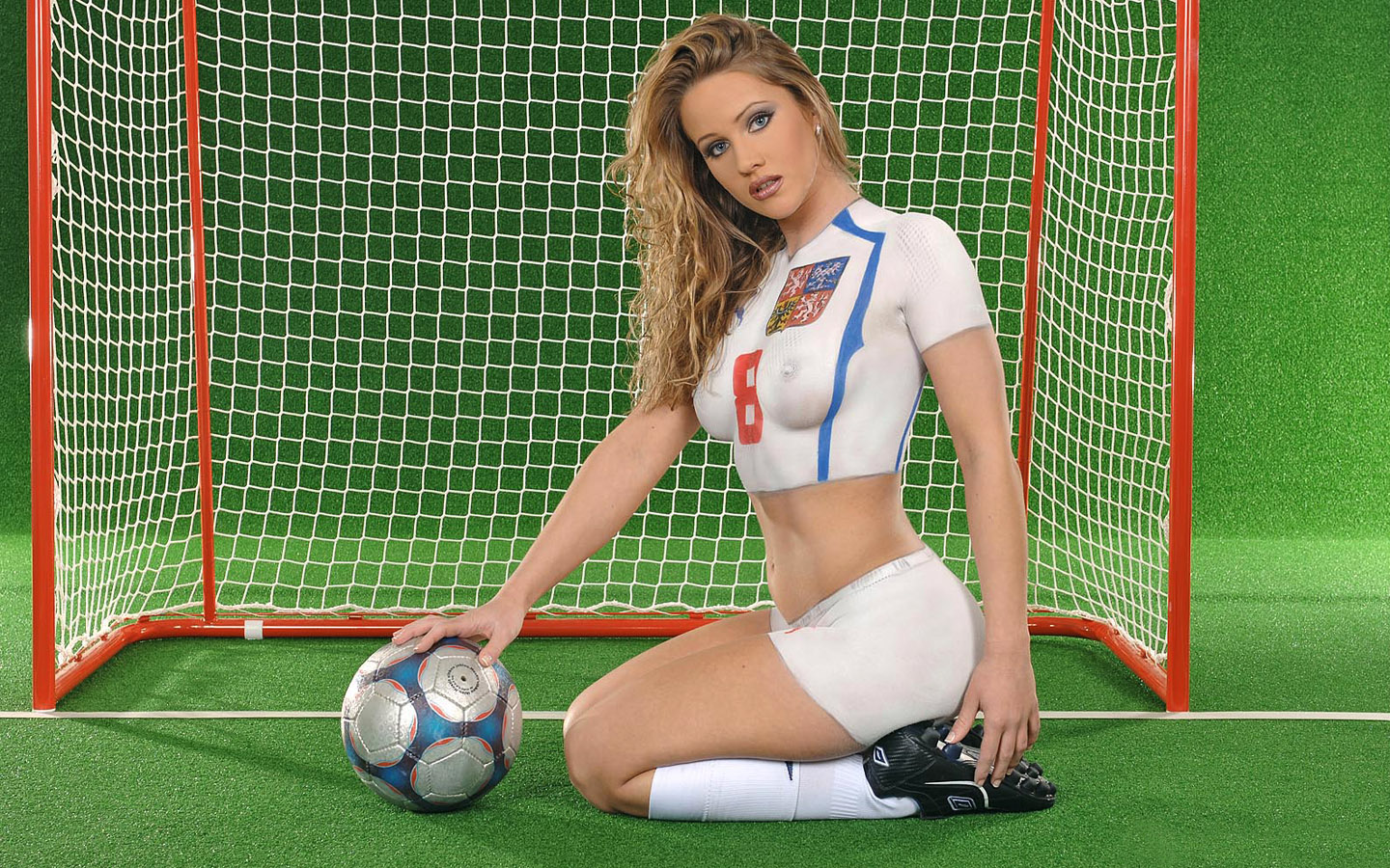Football World Cup Body Painting HD