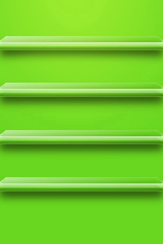 Green Shelf For iPhone