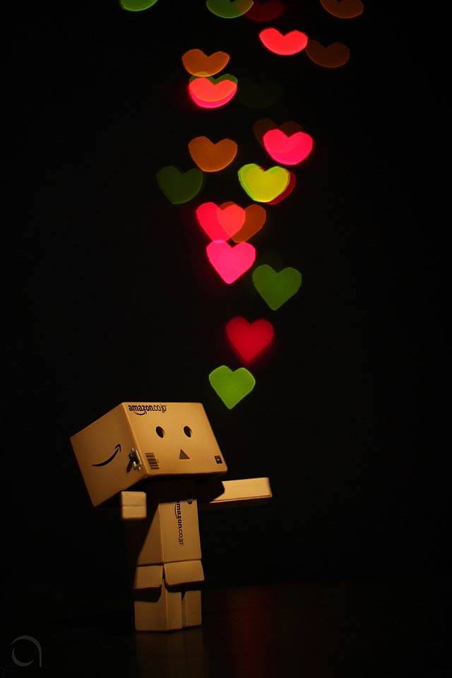 Love Danbo iPhone Wallpaper
