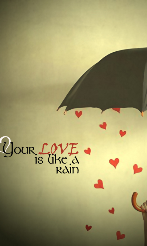 Love Thoughts Wallpapers For Mobile : Love Like A Rain