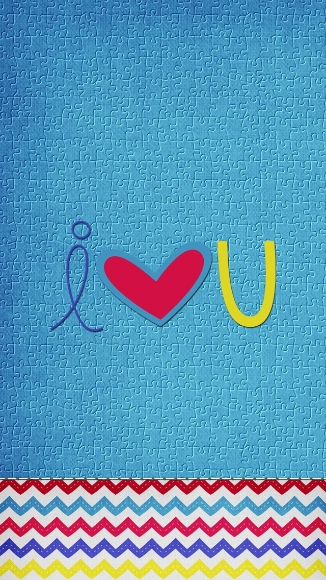 Love U iPhone Wallpaper