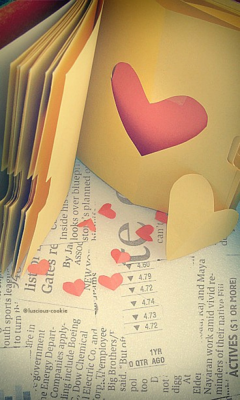Lovely Paper Heart