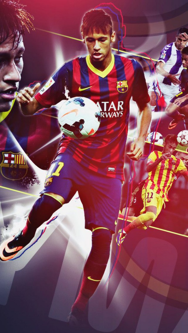 Neymar Barcelona iPhone Wallpaper