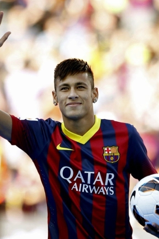 Neymar Barcelona Wallpaper for iPhone 4s