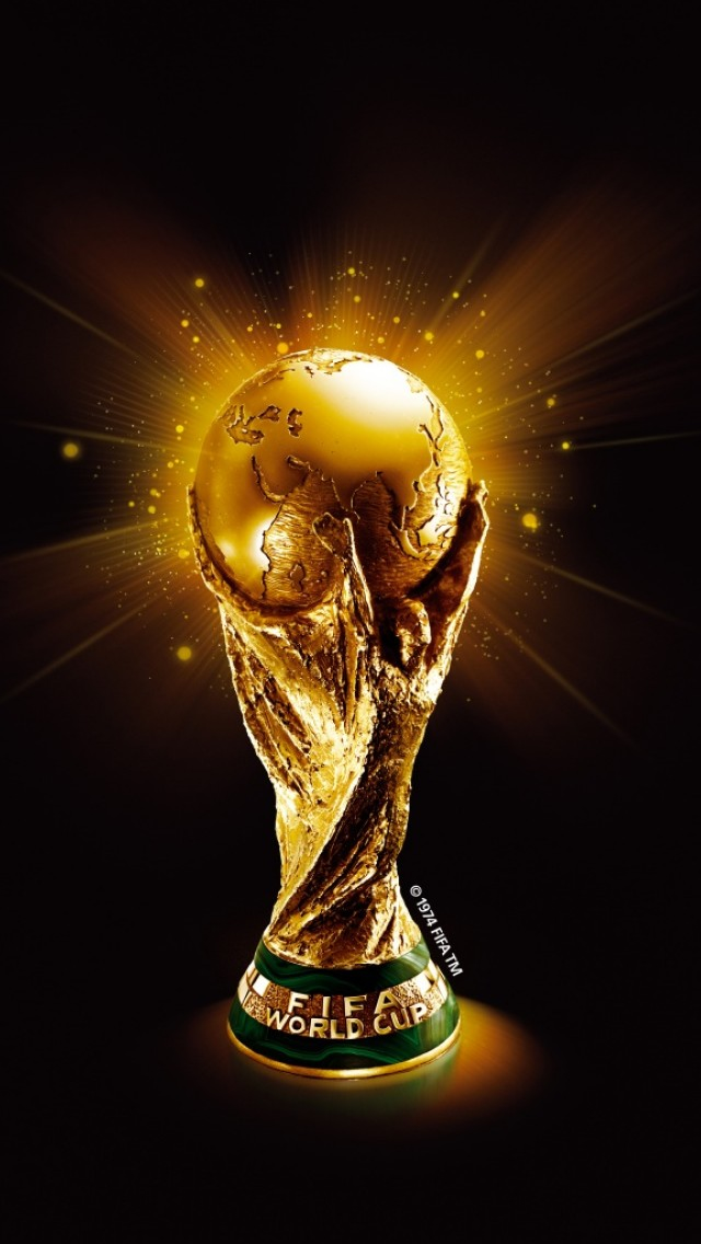 Trofie FIFA World Cup 2014 Wallpaper