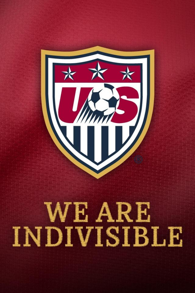 USA National Team Logo iPhone Wallpaper