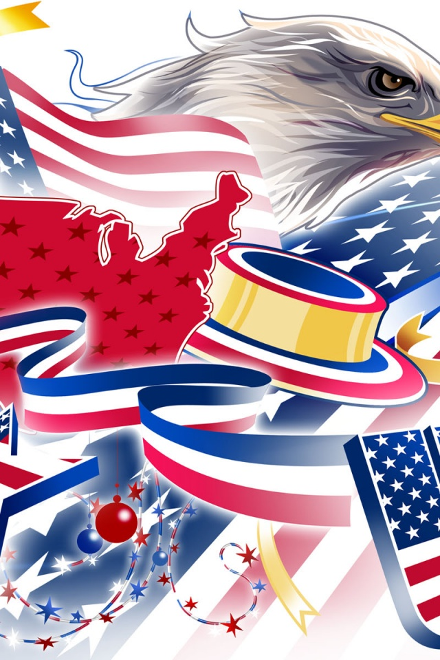 USA 4 July Wallpaper