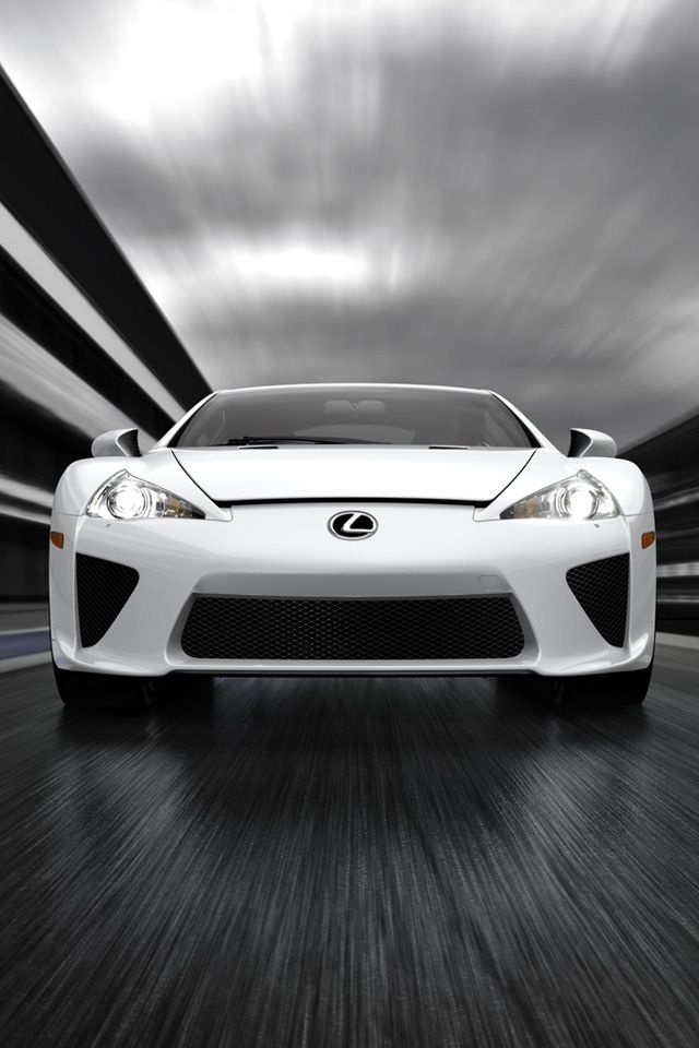 White Lexus iPhone Hd Picture