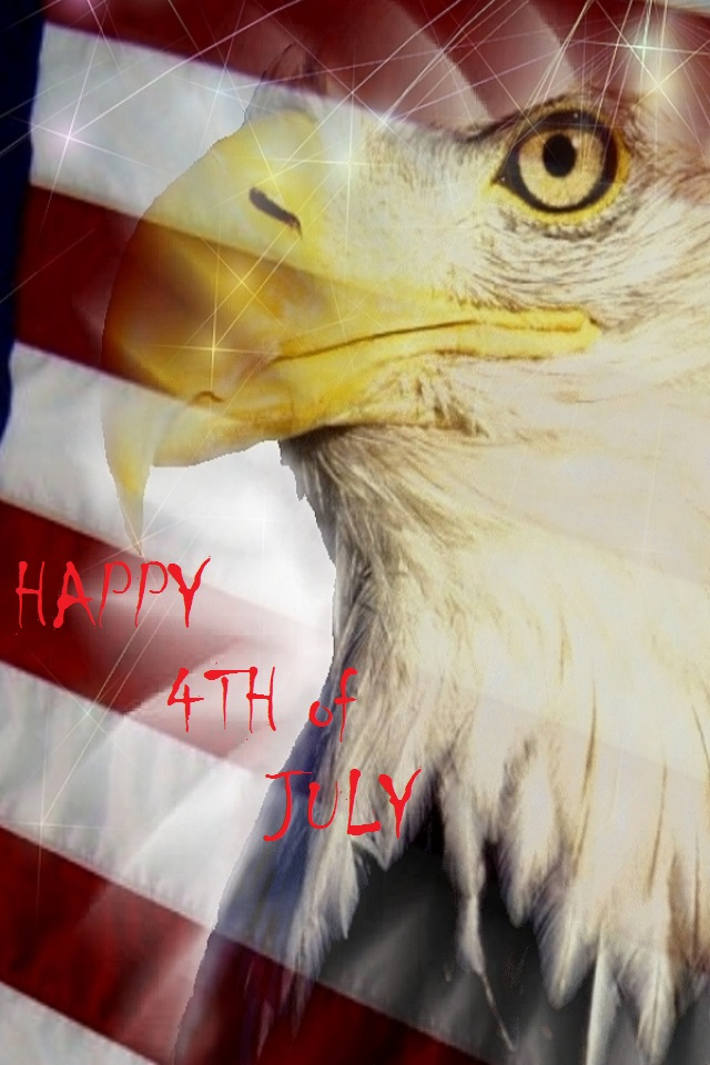4th July Eagle Wallpaper
