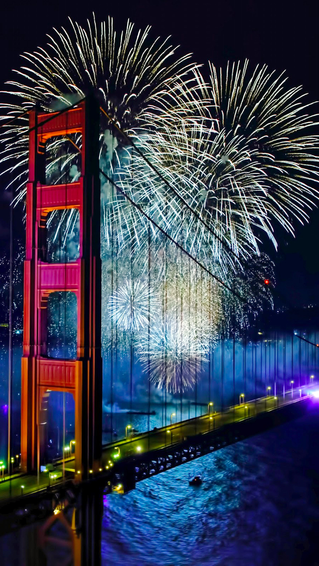 Beautiful Bridge Firecrackers