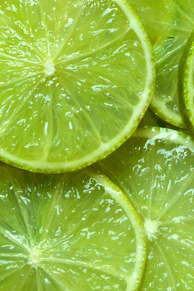 Fresh Limes HD Wallpaper