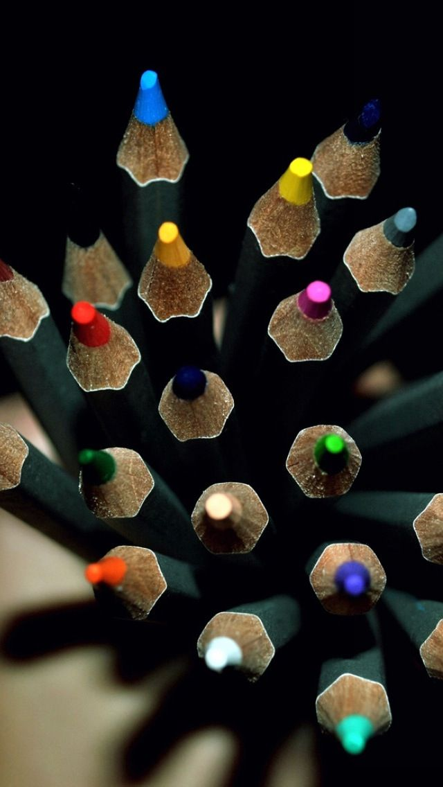 Pencil Color Wallpaper