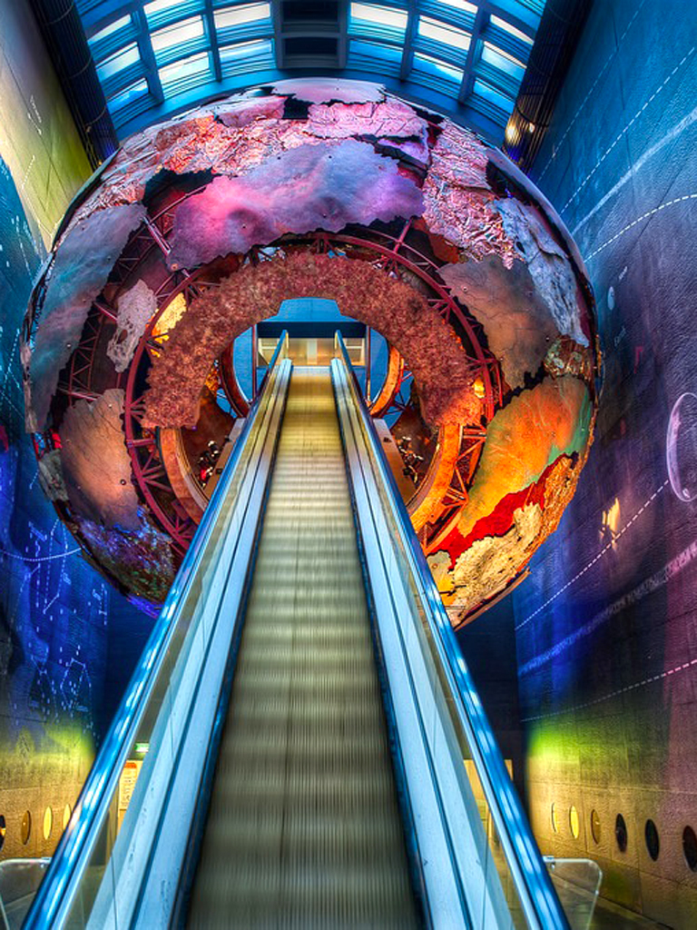 Planet Theme Stairs