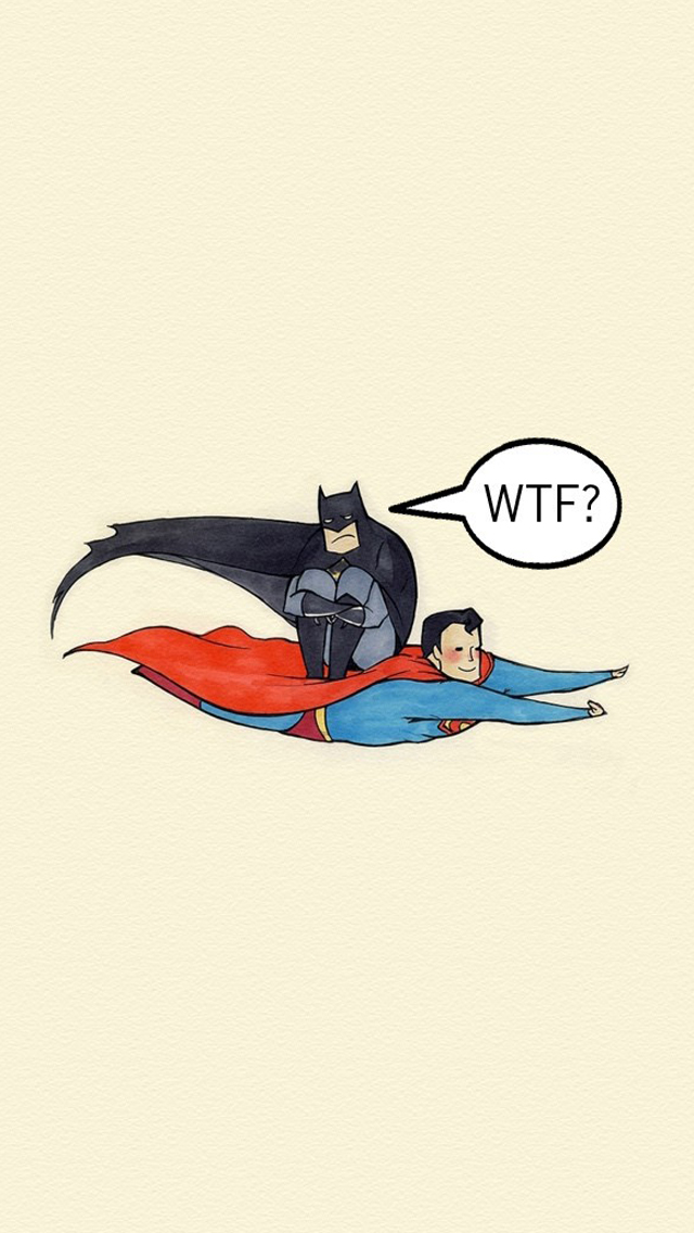Batman on Superman