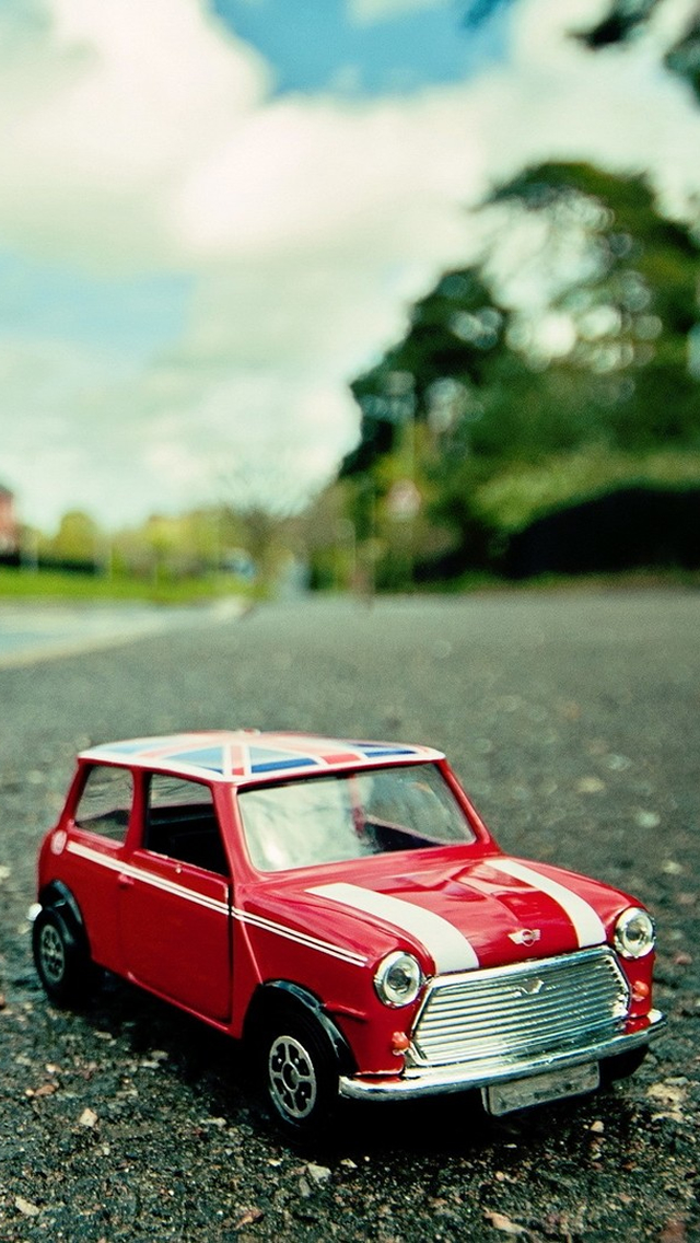 Beautiful Red Mini Car