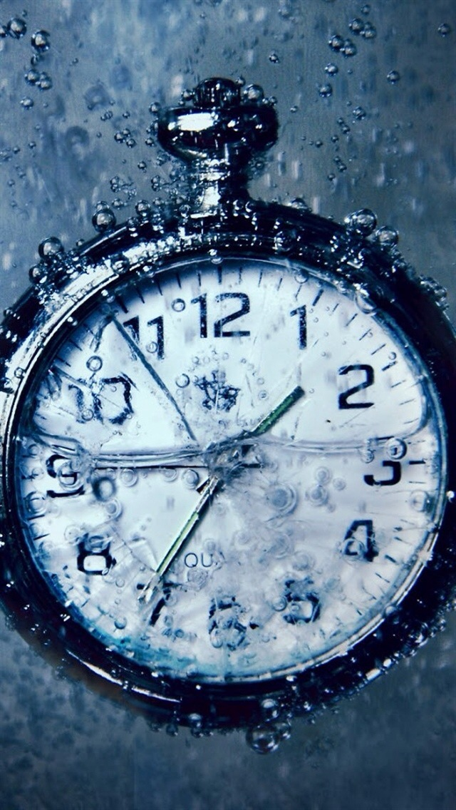 Beautiful Watch in Water