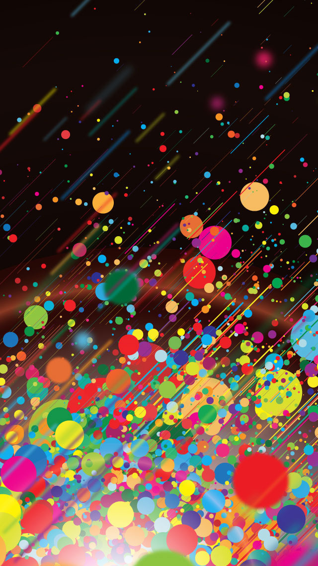 Colorfull Abstract Bubble