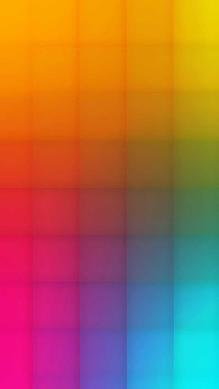 Colourful Square Pattern