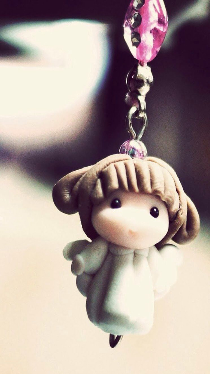 Cute Doll Keyring