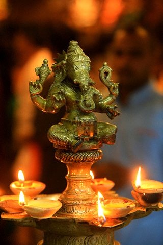 Ganesha Art Lamps