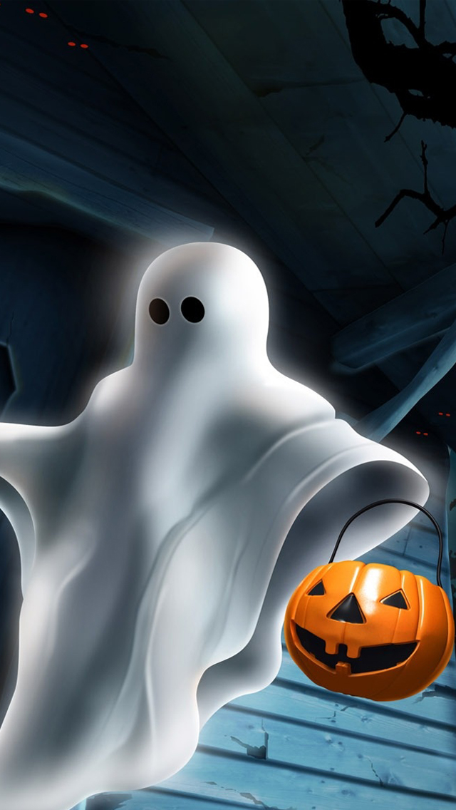 ghost hallowee wallpaper