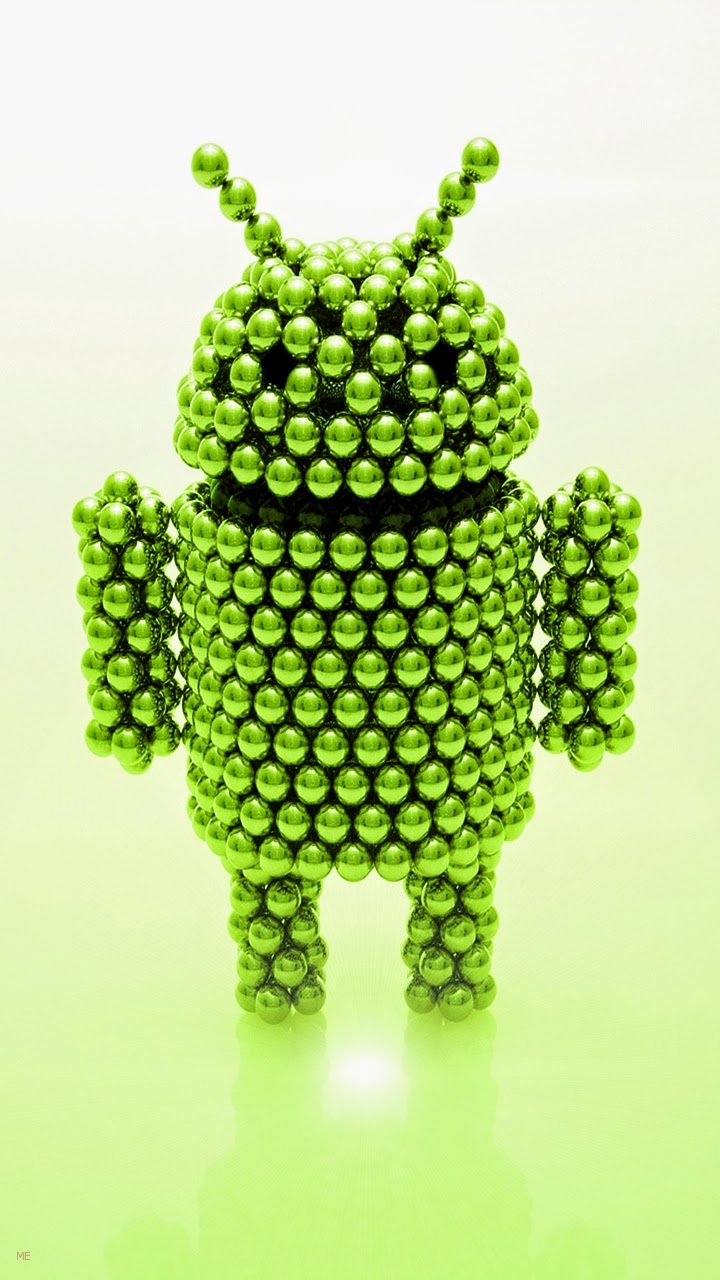 Green Android Logo Wallpaper