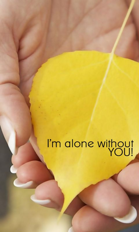 I m Alone Quotes
