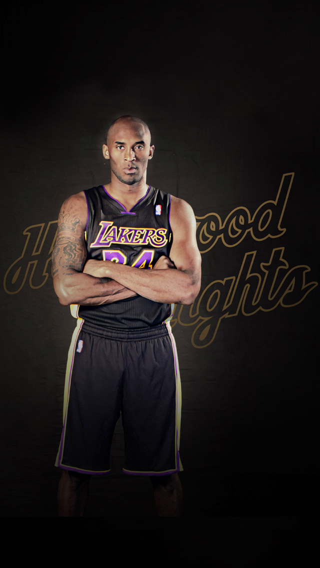 Kobe Bryant iPhone Wallpaper