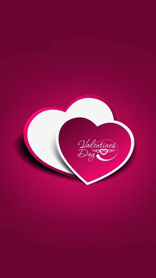 Love Shape Design Wallpaper : Love Heart Shape Wallpaper