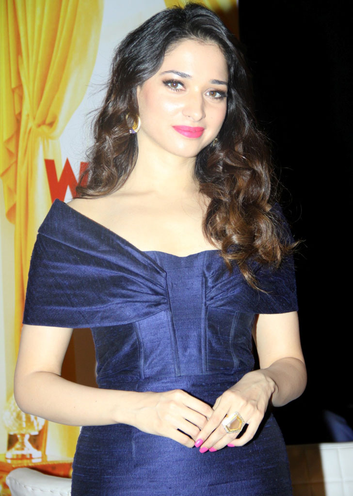 Tamannaah Bhatia in Blue Dress
