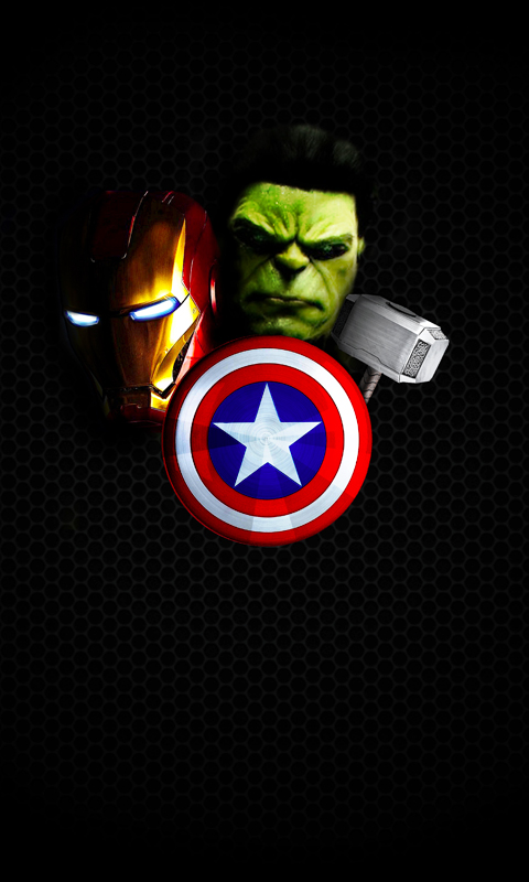 The Avengers Wallpaper Mobile Wallpaper Phone Background