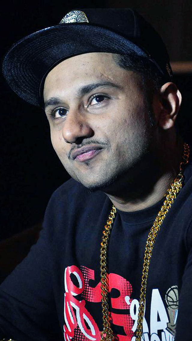 Yo Yo Honey Singh in Studio