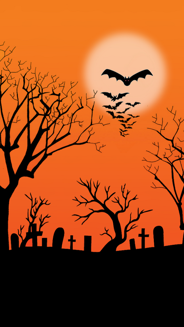 Abstract Halloween Background - 123mobileWallpapers.com