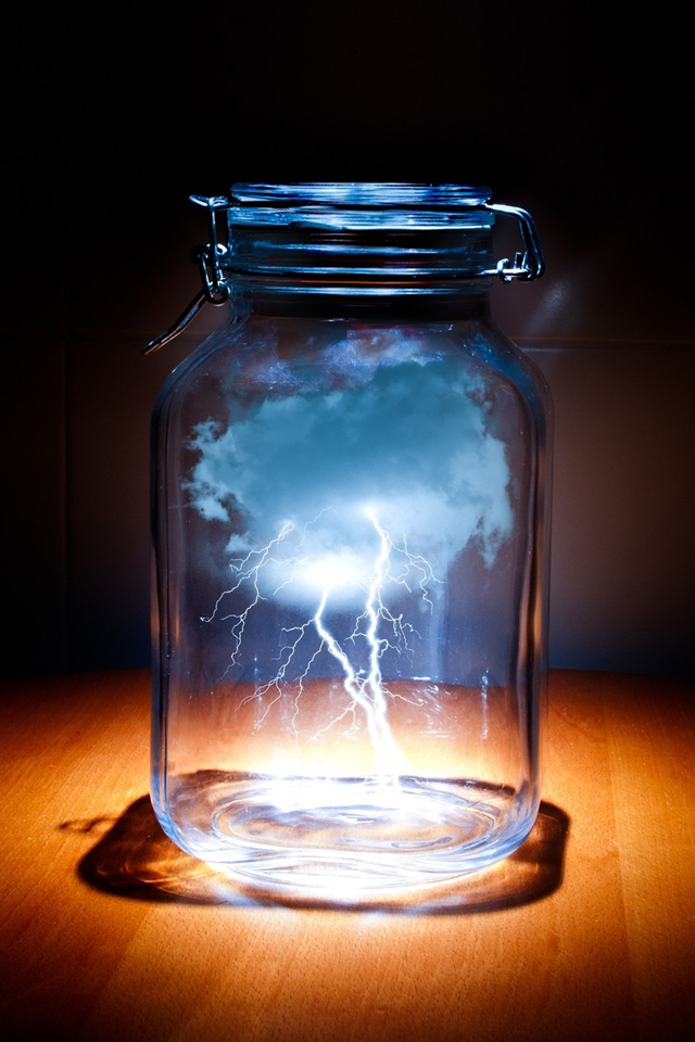 Clouds In Jar