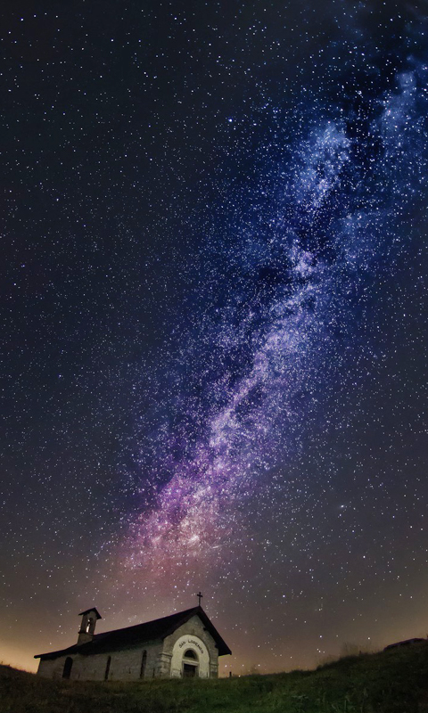 Colorful Galaxy View