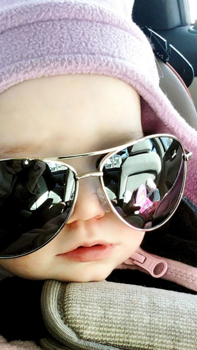 Cute Baby Wear Glasses