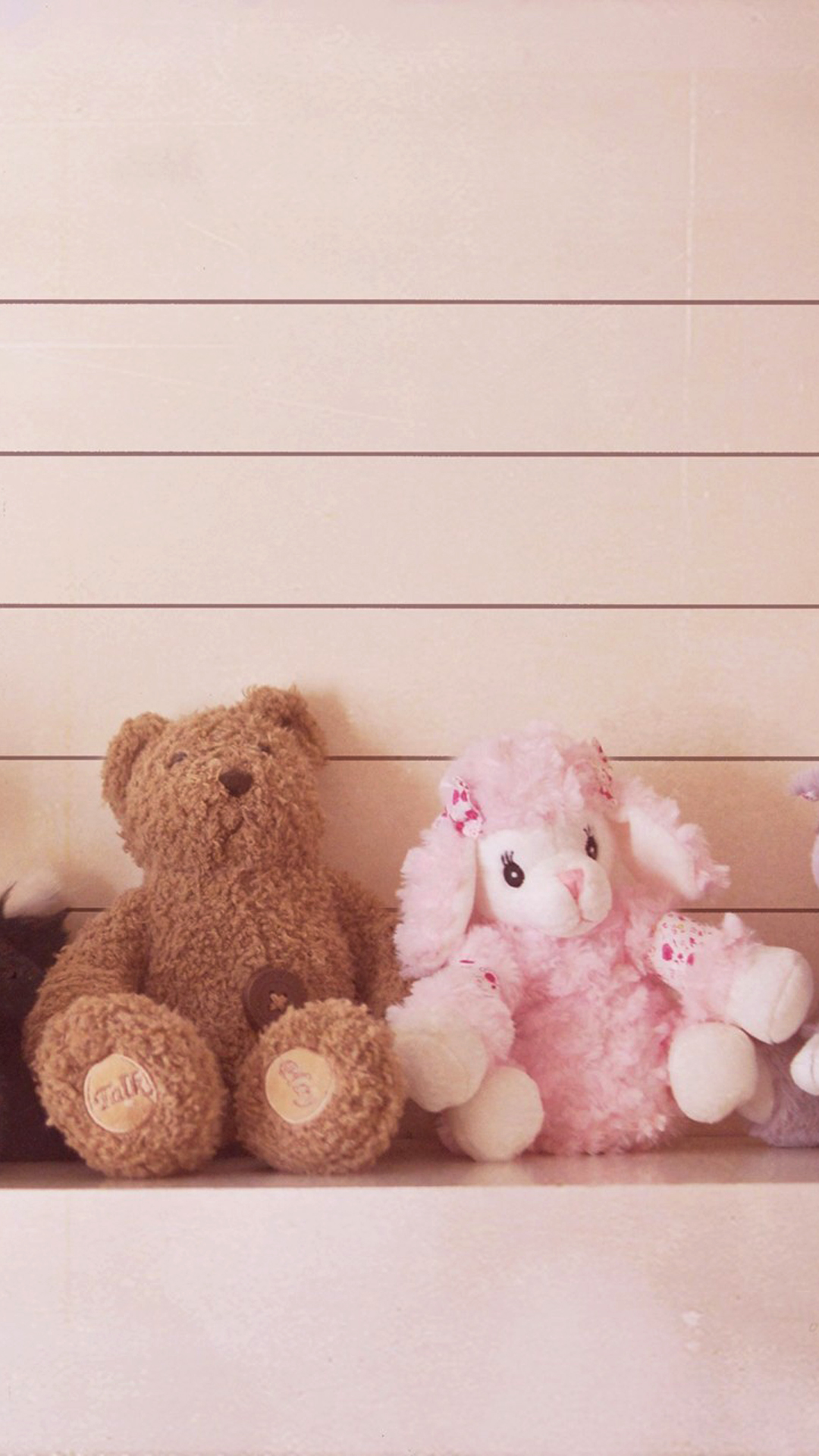 Cute teddy bear couple mobile wallpaper phone background voltagebd Gallery