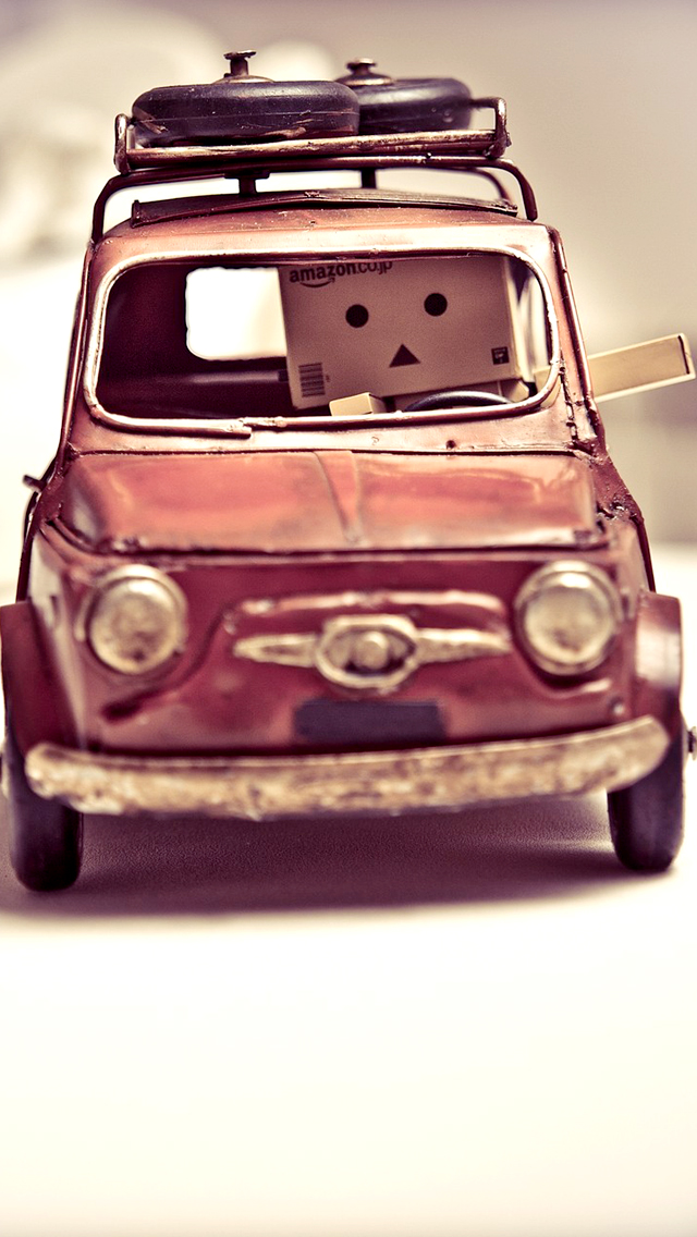 Danbo In Car