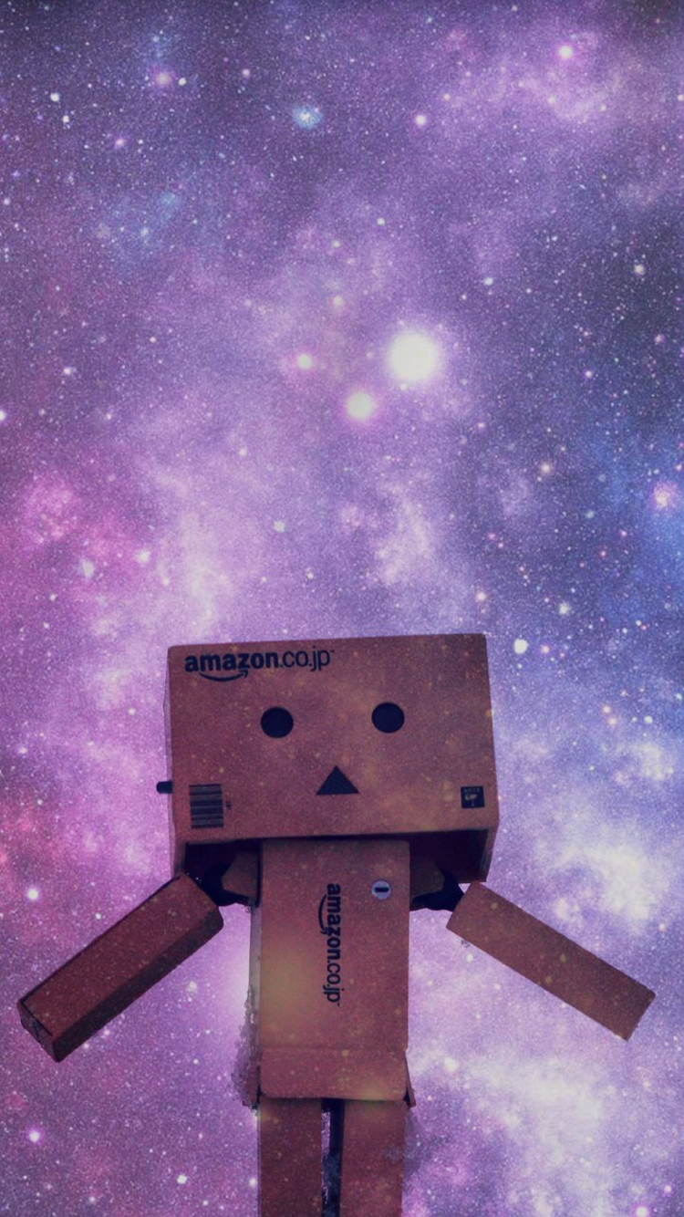 Danbo Watching Stars