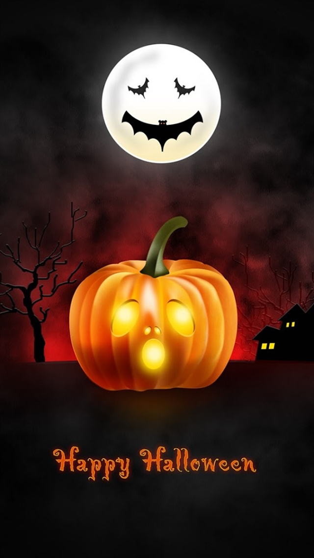halloween moon wallpaper - photo #27