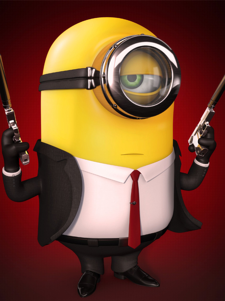 jems bond minions | mobile wallpaper | phone background