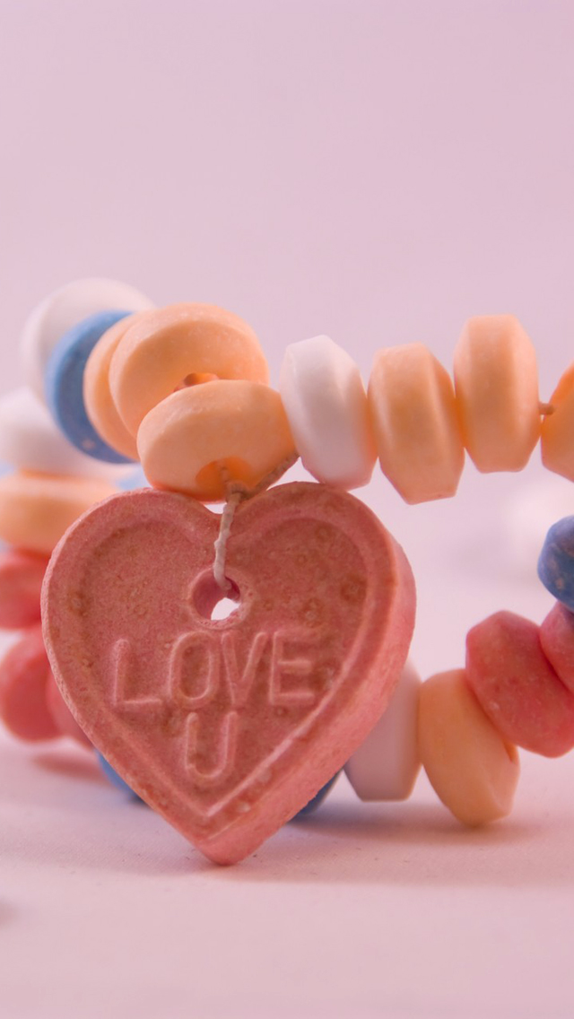 Love Necklace Background