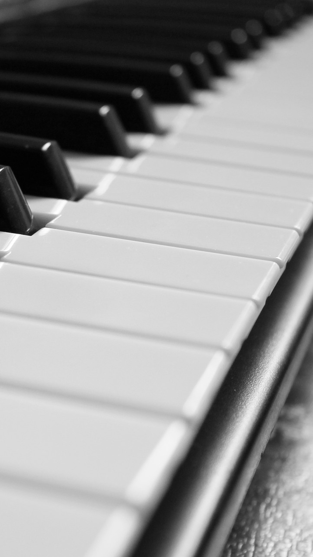 Monochrome Piano Picture