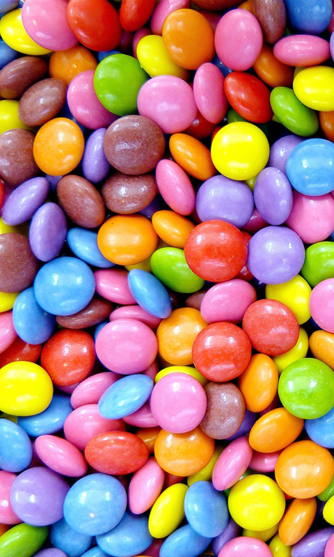 Sweet Colorful Candies