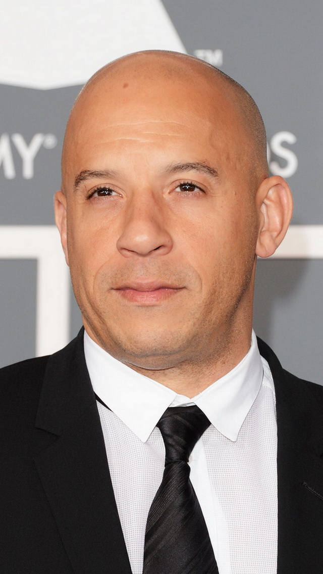 Vin Diesel In Black Suit