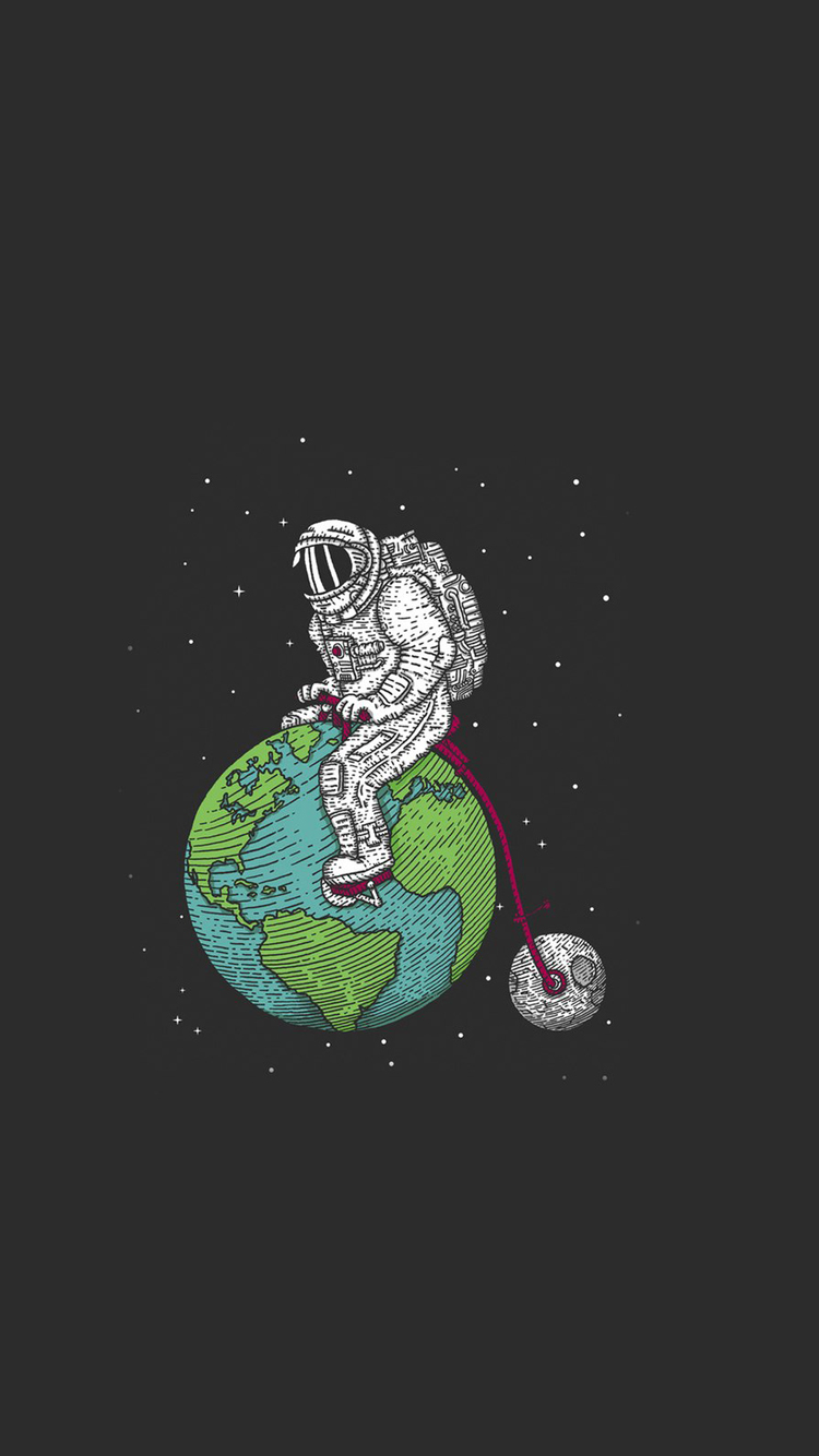 Astronaut On Earth