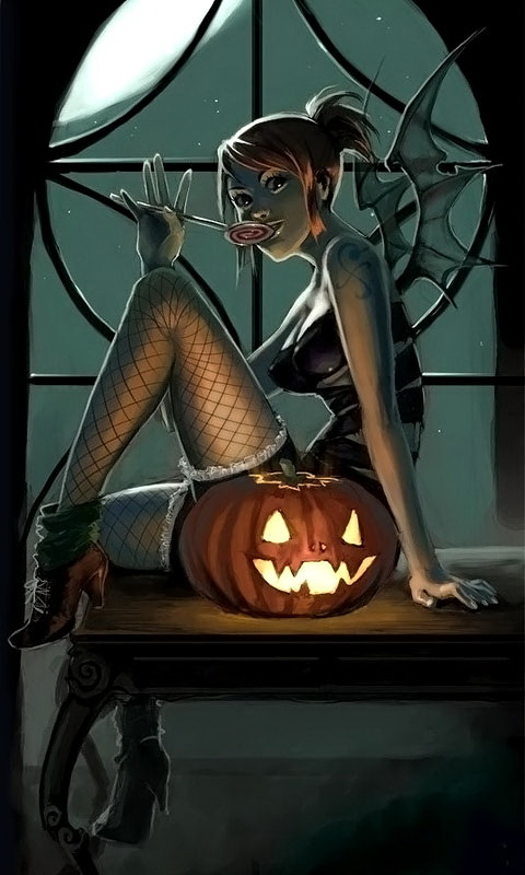 Hot Nami Halloween Girl