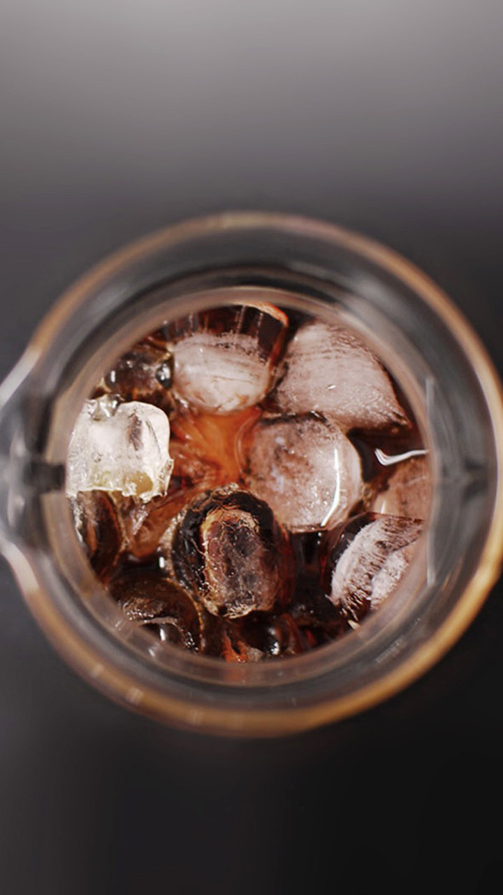 Ice Cube In Drink